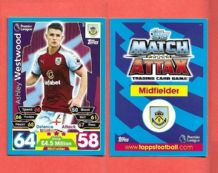 Burnley Ashley Westwood 64